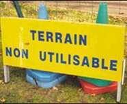 Terrains impraticables