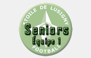 Seniors - Lusigny 1 / St Parres Tertres 2