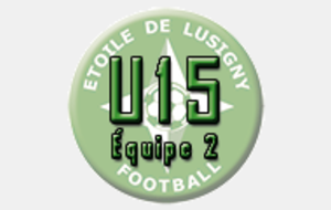 U15 Excellence - Nord Est Aubois - Lusigny