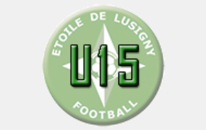 U15 : Match amical Lusigny1 - Municipaux 1