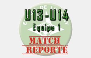 REPORTÉ - U14 - Lusigny/Bar/Montieramey - Port.Romilly/Conflans